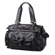 Large-capacity men's handbag Korean version fashionable short-distance travel bag computer bag Chao men's Bag Backpack