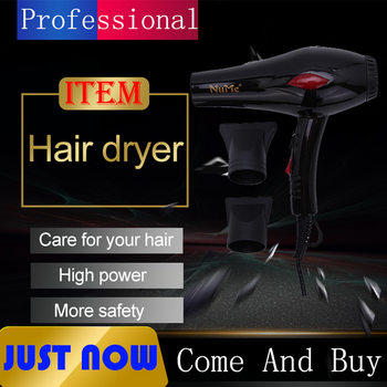 2000W Hair Dryer Strong Power Blow Dryer Hairdressing Barber Salon Tools Negative Ionic Hair Blow Dryer Styling Tools Women professional salon hair dryer with negative ion blue hair dryer strong wind blower electric hair dryer hair styling tools