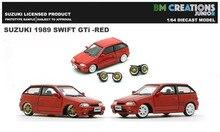 Новинка, автомобили 3 дюйма, масштаб 1/64, модели BM Creations JUNIOR Swift GTi 1989, литые автомобили из сплава, коллекционный подарок