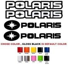 Para (2 peças) polaris rzr 800 900 1000 rzr s sportsman xp quad adesivos decalques