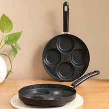 Японская креативная каменная сковорода maifan с бакелитовой