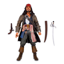 Pirate Cap 1230 cm Pirates Of The Caribbean Captain Jack Sparrow Jackie PVC Action Figure Articular Movable Collectible Model Toys new arrival gudi 9115 pirates of the caribbean series black pearl jack sparrow figure building block toys