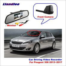 Liandlee Car Road Record WiFi DVR Dash Camera Driving Video Recorder For Peugeot 308 2015~2017