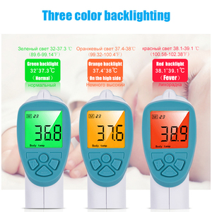 Image 5 - Smart Infrared Digital Temperature Thermometer Gun for Infants Forehead Body Thermometer Baby Adult Hygrometer Thermometer Gun