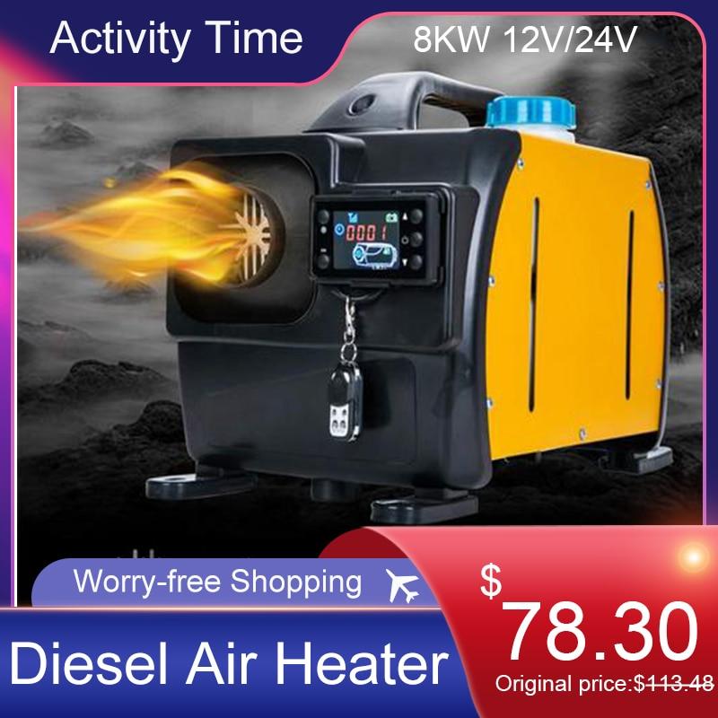 8KW 12V/24V Parking Heater Fuel Diesel Heater Car Heater Digital Display Constant Temperature Parking Heater Car Diesel Heat Hot|Heating & Fans| - AliExpress