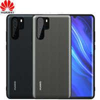 Coque Huawei P30 Pro coque arrière cuir d'origine officielle P30 P20 Lite Funda Carcasa Huawei P20 Pro coque de protection pour téléphone Capa