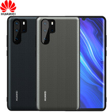 Huawei P30 Pro Case official Original Leather Back Cover P30 P20 Lite Funda Carcasa Huawei P20 Pro Protective Phone Capa Case(China)