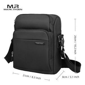 Image 5 - مارك رايدن الرجال حقيبة ساعي حقيبة كتف خمر حقيبة كروسبودي عادية حقائب اليد