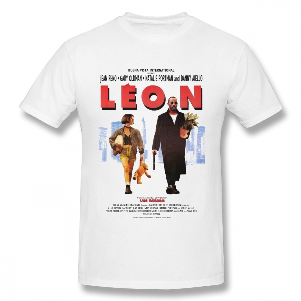 LEON The Professional Vintage T Shirt For Male 3D Print Nice Summer Breathable Camiseta Casual Top Design Tees