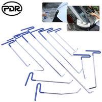 Super PDR Tools Crowbars Car Push Hook Rod Paintless Dent Removal Kit Crowbar Opening Tool Repairing Hand Tool Pry Bar Set