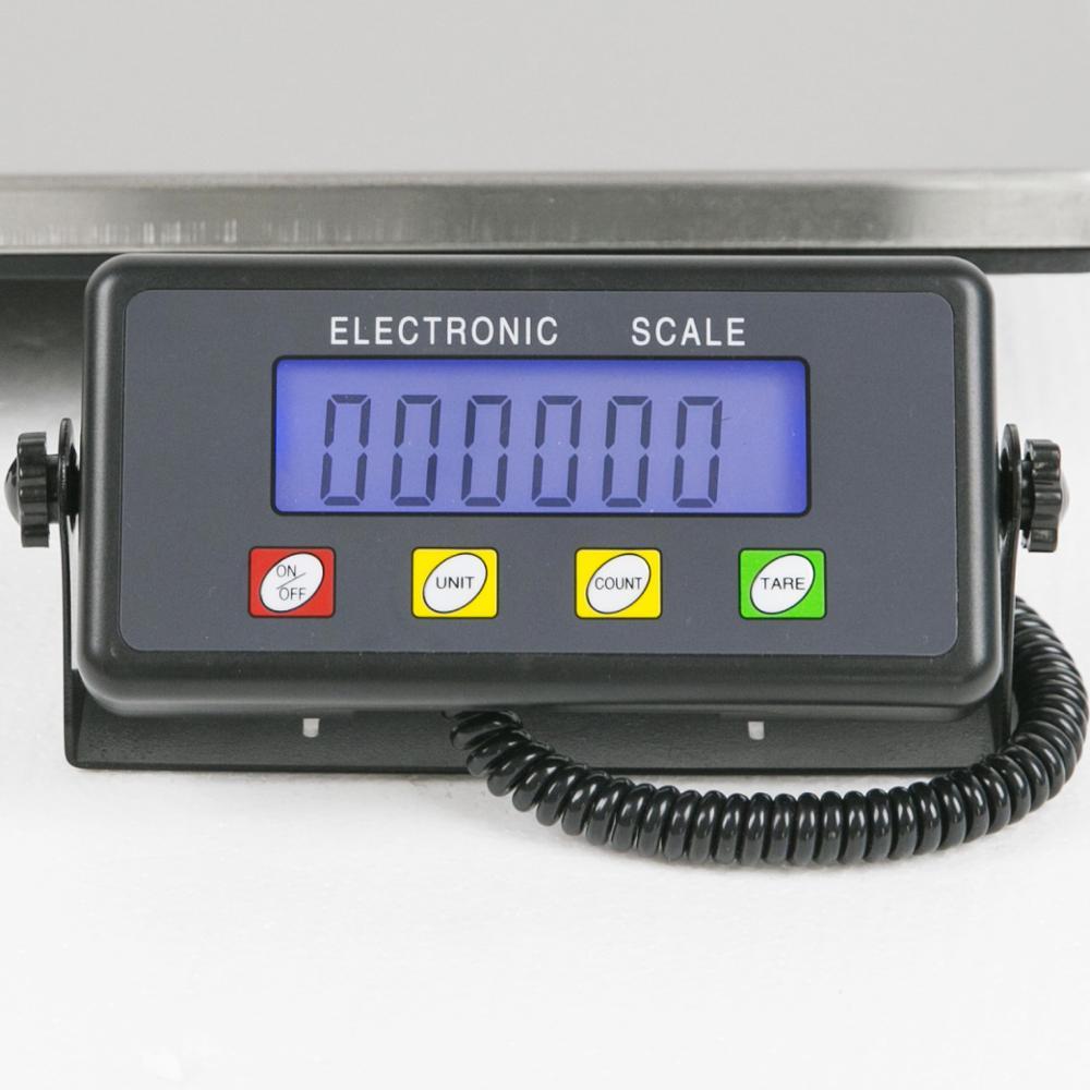 home improvement : Portable 200kg Electronic digital platform weighing postal warehouse scale for express parcel