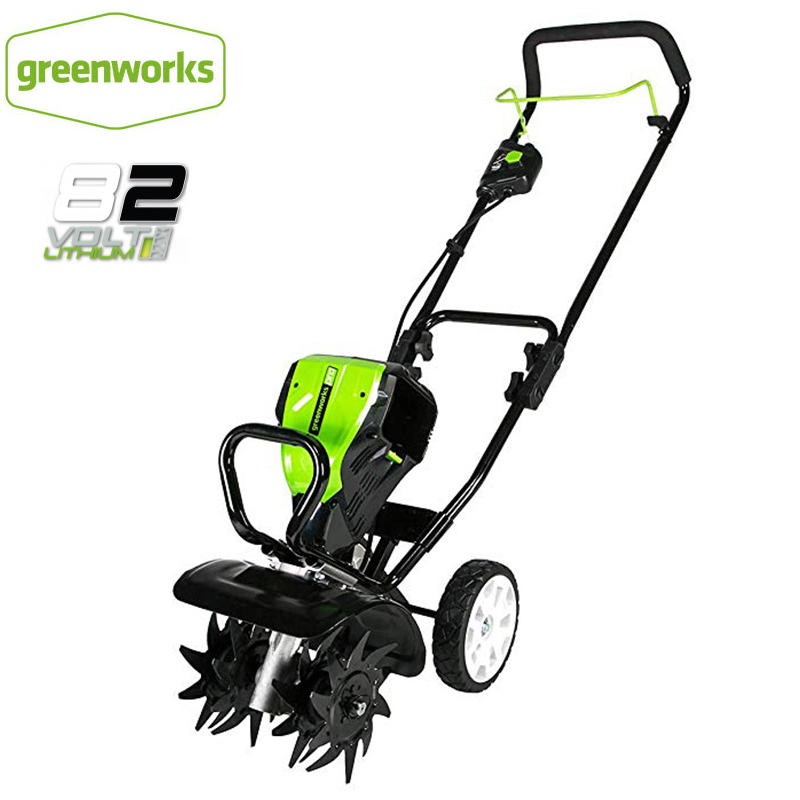 Mega Deal B2ff Greenworks 82v 10 Hand Push Power Tiller