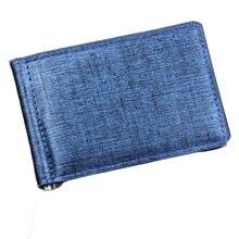 Qualidade superior homens bifold negócios carteira de couro id titular do cartão de crédito bolsa bolsos cartão carteira # y1