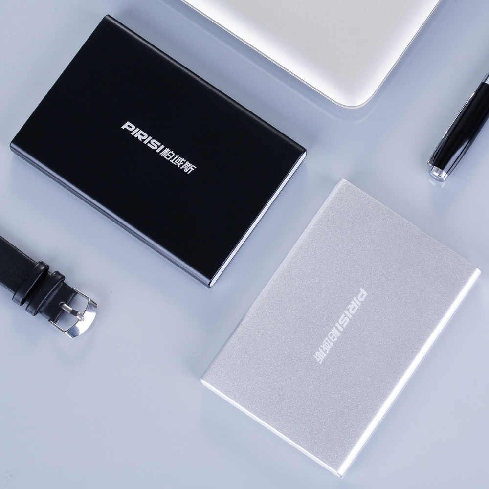 Disco duro externo portátil PIRISI USB3.0 Disque dur externo para ordenador, Mac, tableta, Xbox, PS4, TV box
