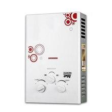 2020 mais novo ce tipo de combustão 100% qualidade 6l lgp imediato aquecedor de água quente propano inoxidável tankless caldeira do chuveiro lavagem