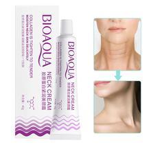 New 1Pcs 40g Collagen Neck Cream Anti Anti Aging Whitening Moisturizing Cream Firm Skin Face And Neck Cream Supplies