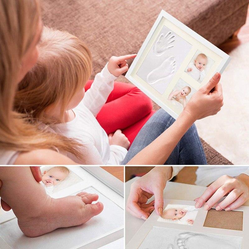 tinteiro impresso para bebe em pe moldura 01