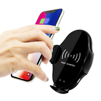 10W Wireless Car Charger automatic clamp Air Vent Mount Phone Holder For iPhone XS Max Samsung S9 Xiaomi MIX Huawei Mate Pro 20