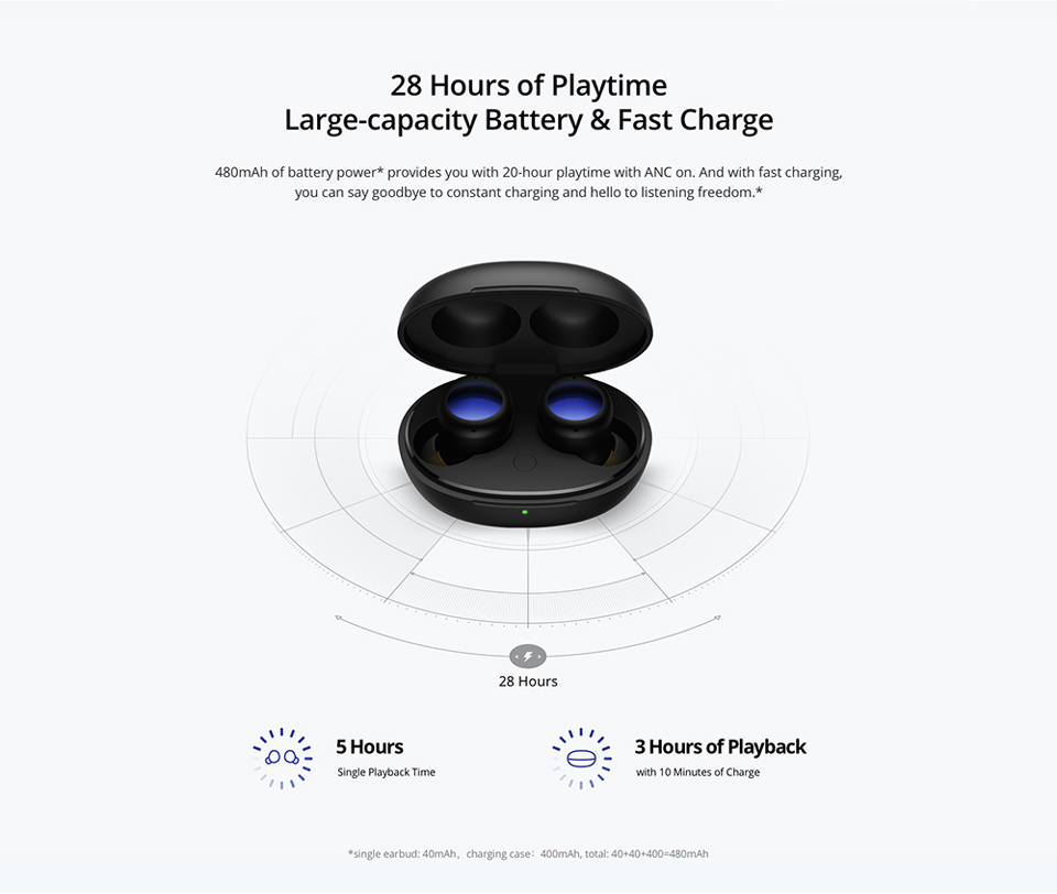 Realme Buds Air 2 Neo Wireless Earbuds 9