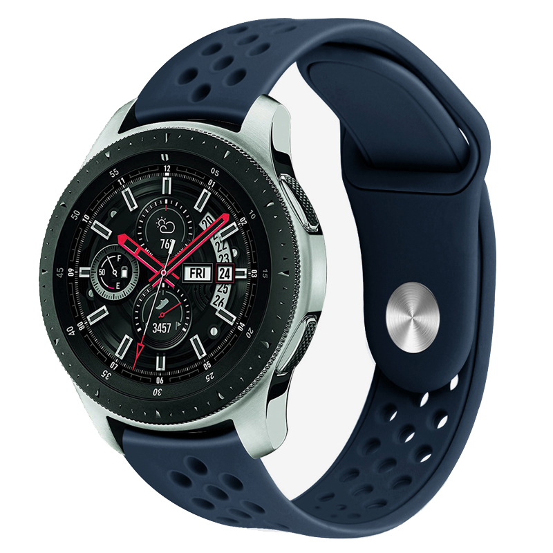 sport strap for samsung galaxy watch 42mm active gear sport S2 classic 20mm amazfit bip band silicone bracelet belt accessories