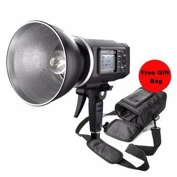 Godox Witstro AD600B 600W TTL Portable Wireless Strobe Flash Bowens Mount AD600 + Godox PB-600 Portable Flash Bag Case Pouch