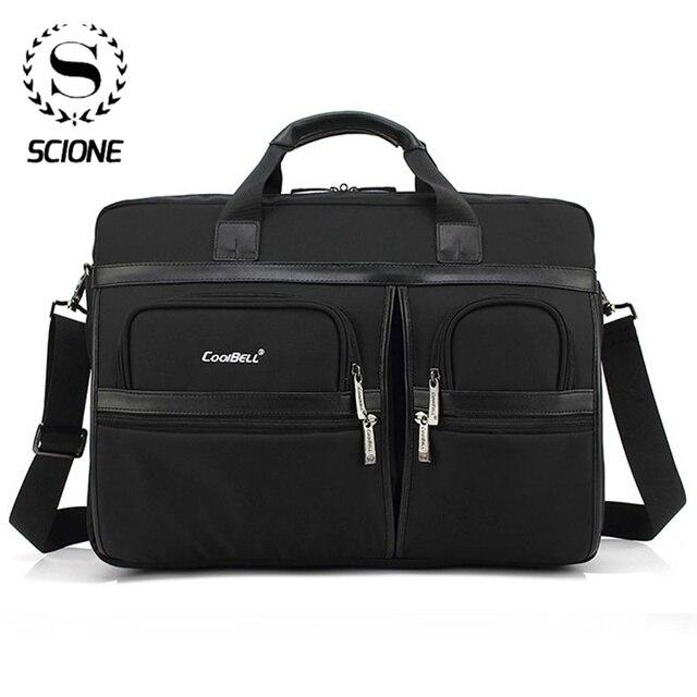 Scione masculino computador portátil maletas sacos de escritório para mulheres grandes bolsas de ombro crossbody bolsa de escritório