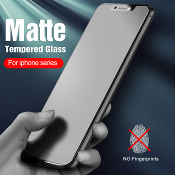 2pcs matte tempered glass for iphone 12 pro max glass for iphone 12 11 pro xs max x xr 6 7 8 plus iphone12 screen protector film