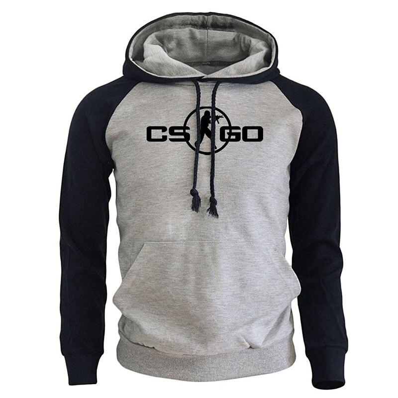 Jogo cs go cosplay traje 2018 primavera outono moda streetwear raglan sweatshirts para harajuku masculino hoodies moletom masculino