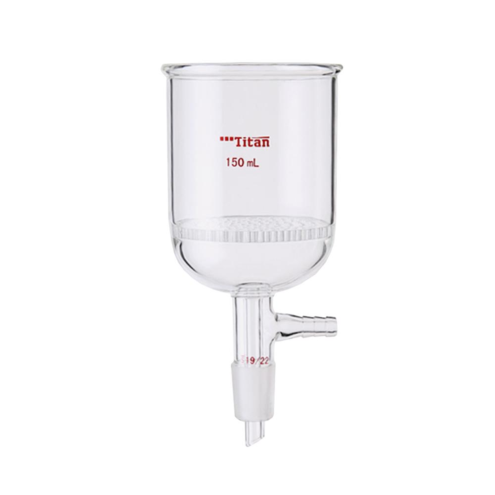Lab Supplies Glass plate bush funnel Experiment Equipment Sand Core Funnel Lab Tools Consumables 30ML-350ML Funnel Pakistan