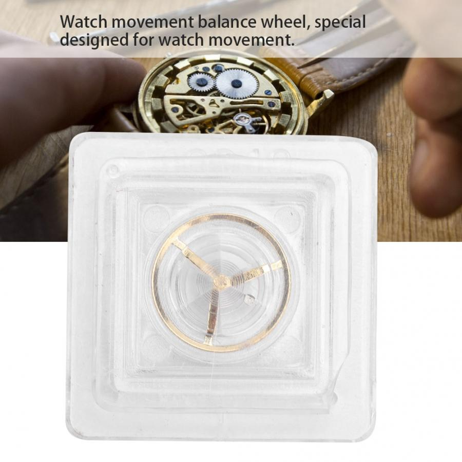 Watch Repairing Part Balance Wheel Replacement Accessory for 2846 Watch Movement Balance Wheel Watch Accessory Watch Tool a