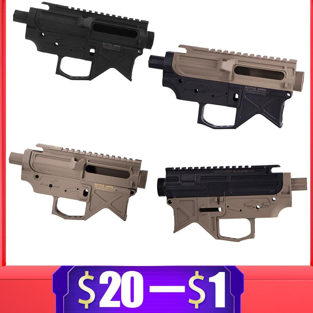 For BD556 Nylon Airsoft Receiver For Gel Blaster JinMing AEG Body Gel Split Air Guns Ver.2 Gearbox Paintball Accessories