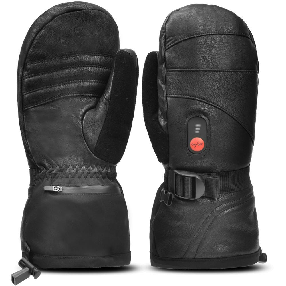 Зимние теплые перчатки с электроподогревом и аккумулятором, перчатки с инфракрасным подогревом для катания на лыжах, мотоциклах SHGS38