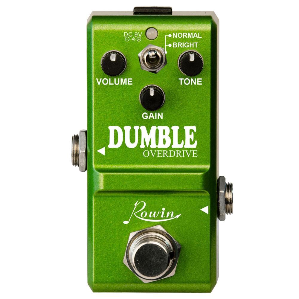 Rowin LN-315  Dumble Pedal Replicates The Unique Tones Of The Legendary Dumble Amp-Smooth.