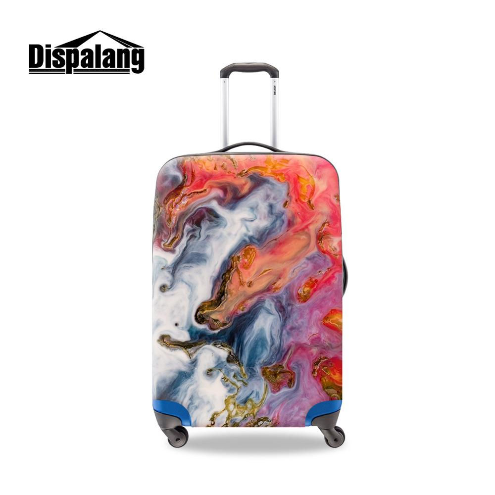 Four Sizes Plastic Luggage Covers For Traveling Many Pattern Promotional Customized Printed Suitcase Bags Stretch