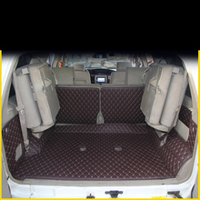 Lsrtw2017 Leather Car Trunk Mat Cargo Liner for Nissan Patrol 1997-2010 2009 2008 2007 2006 2005 2004 2003 2002 2001Safari Y61