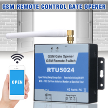 RTU5024 GSM Gate Opener Relay Wireless Remote Control On/Off Door Access Switch for Household Bedroom Accessories