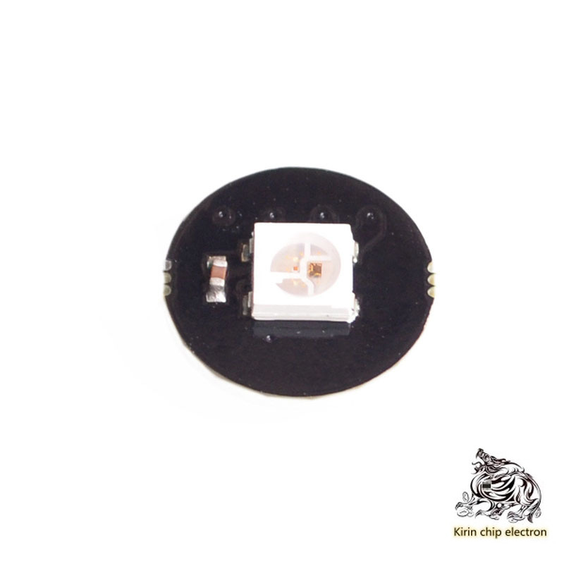 10PCS/LOT 1-bit WS2812 5050 RGB LED Built-in Full-color Drive Light Development Board