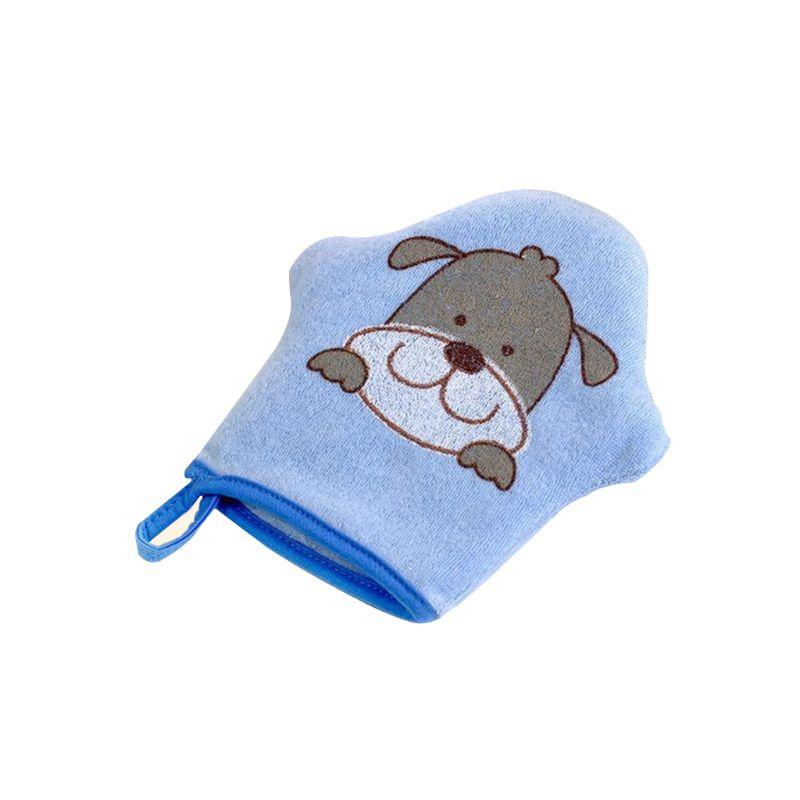 Cartoon Super Soft Cotton Baby Bath Shower Brush Glove Cute Animal Pattern Children Sponge Rubbing Towel Ball