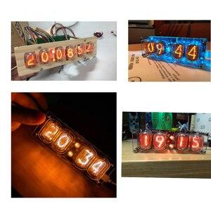Image 5 - Novo tubo de brilho para relógio, 1 peça, novo em 12 em 12, tubo para brilho, nixie, relógio digital led com ponto decimal