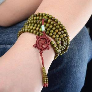 Saints Jesus Religiöse Holz Katholischen Icon Armbänder Unisex Mode Holz Armband Paryer Charme Schmuck 7 Farben