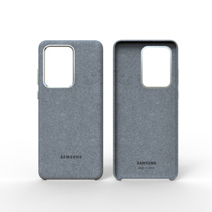Image 3 - 100% Original GENUINE Samsung S20 Ultra Case For Galaxy S20Plus S20 + Alcantara Cover Leather Premium Full Protect Cover 5 color