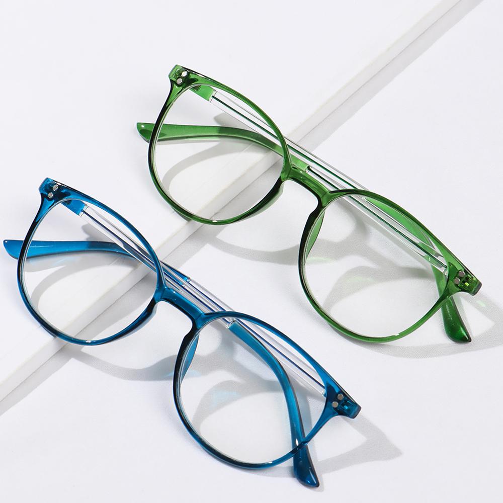 Hot Sale High definition Reading Glasses Unisex Fashion Ultralight PC Frames Presbyopic Glasses Vision Care Eyewear +1.00~4.00