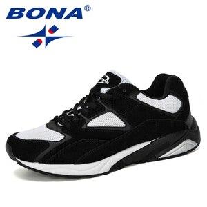 Image 5 - Bona 2019 novo designer dos homens tênis respirável krasovki sapatos homem super leve sapatos casuais masculino tenis masculino lazer calçado