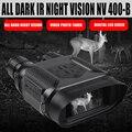 NV400B цифровой бинокль ночного видения IR LED Camorder 3.5X-7X Zoom мини прибор ночного видения для ночного видения