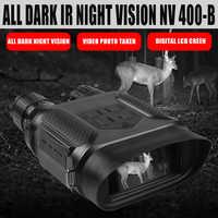 NV400B Digital Night Vision FERNGLAS IR LED Camorder 3.5X-7X Zoom Mini Nachtsicht Gerät für nighthunting