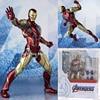 SHF Figure 16cm Endgame Iron Man MK85 Action Figure Model Toy Doll Gift