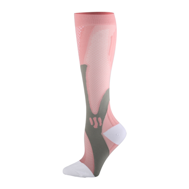 Brothock Compression Socks Nylon Medical Nursing Stockings Specializes Outdoor Cycling Fast-drying Breathable Adult Sports Socks 6