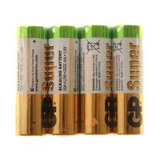 Батарейка алкалиновая GP Super, AA, LR6-4S, 1.5В, спайка, 4 шт. 532879