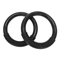 2 Pcs/Set Abs Gymnastics Rings Heavy Duty Plastic 28Mm Yoga Exercise Fitness Rings With Foam Handle Gym Exercise Fitness Equipme