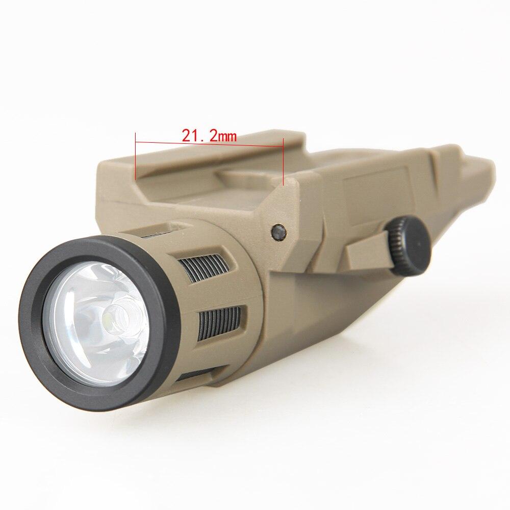 Trijicon novo arrvial tático lanterna SD-65 luz